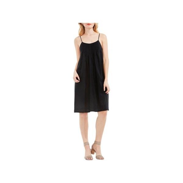 e289a686a3 Shop Two by Vince Camuto Womens Sundress Linen Pintuck - Free ...