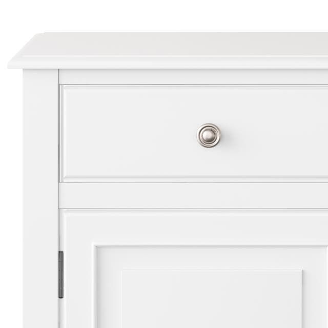 """WYNDENHALL Hampshire SOLID WOOD 40 inch Wide Traditional Entryway Storage Cabinet - 40""""w x 15""""d x 36"""" h"""