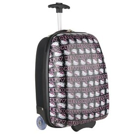 Hello Kitty Signature ABS Rolling Luggage