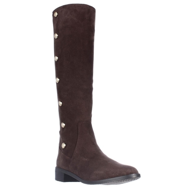 Vince Camuto Jacilla Buttoned Tall Dress Boots - Cocoa Bean