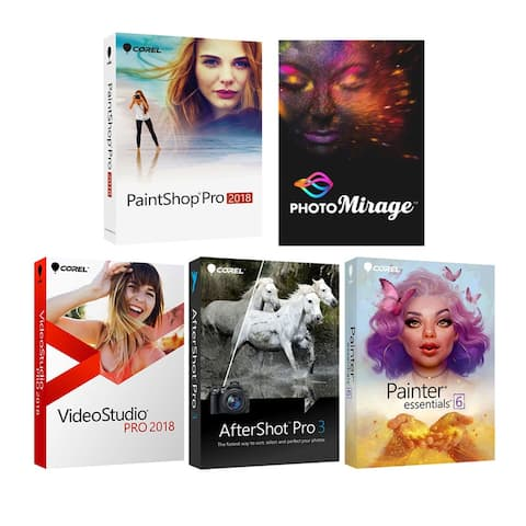 Corel Deluxe Premium Photo Software Kit with New Photo Mirage - Multi
