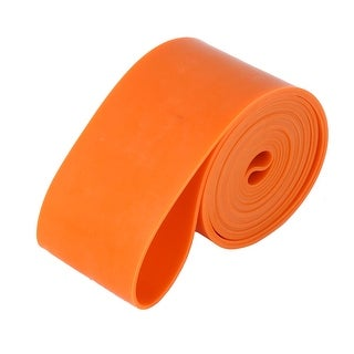 Rubber Stretchy Powerlifting Resistance Band Pull up Training Loop Orange