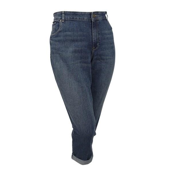 83ae4a5d9b8 Shop Style   Co. Plus Size Curvy-fit Jeans (22W