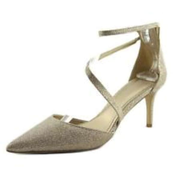 4ed2ff318fb5 Shop BADGLEY MISCHKA Womens Zafina Pointed Toe Special Occasion Ankle Strap  Sandals - Free Shipping Today - Overstock.com - 21155111