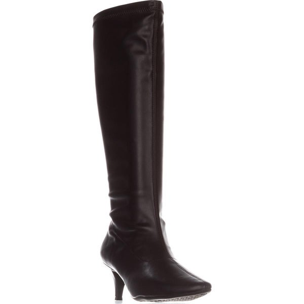 Aerosoles Afterward Pointed Toe Knee High Dress Boots, Brown