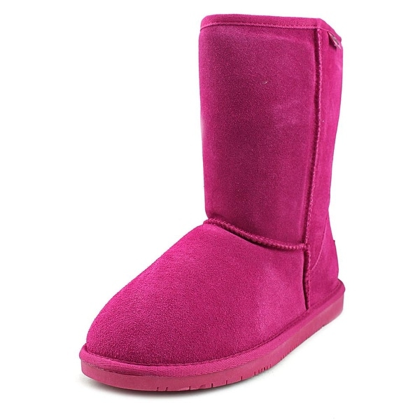 Minnetonka Olympia Short Boot Women Round Toe Suede Winter Boot