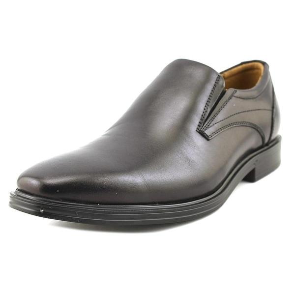 Florsheim Pinnacle Pl Slp Men Square Toe Leather Black Loafer