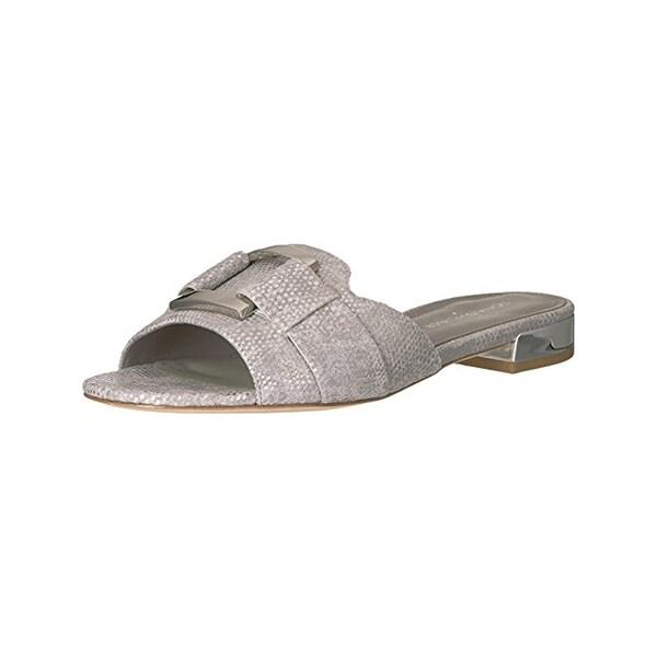 Donald J. Pliner Womens Falta Slide Sandals Open Toe Flats