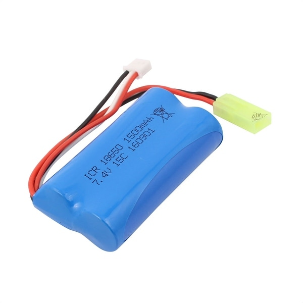 DC 7.4V 1500mAh Recycle Charging Lithium Battery for Remote Control Airplane