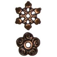 Copper Mixed Cap - Jewelry Basics Metal Beads 11Mm 60/Pkg