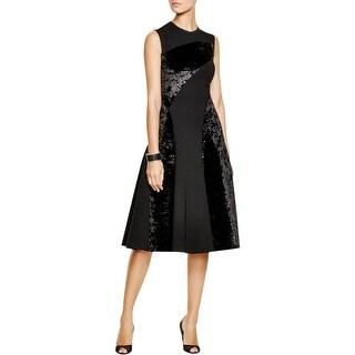 DKNY Womens Formal Dress Velvet Prom