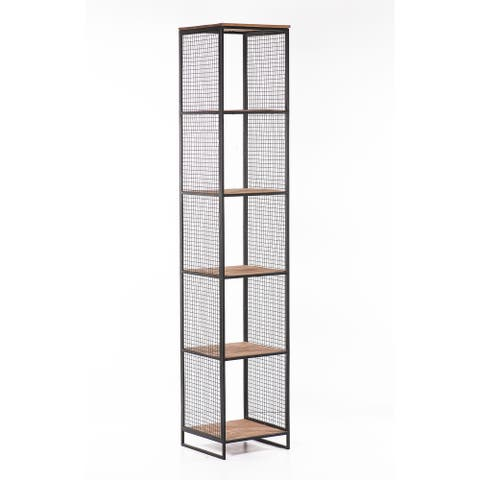 Eureka Wire Mesh Bookcase