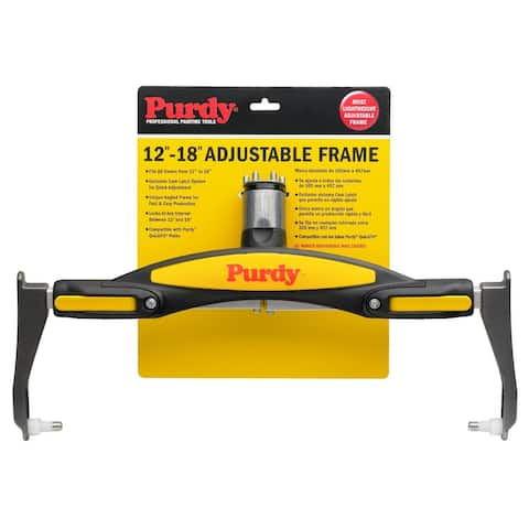 """Purdy 140753018 Adjustable Paint Roller Frame, 12"""" To 18"""""""