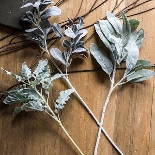 RusticReach Artificial Plant Wild Leaf Stem