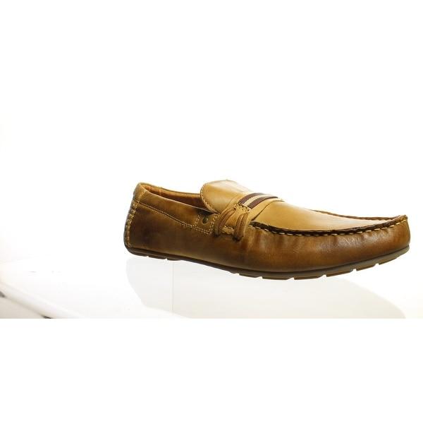 1506acb21af Shop Steve Madden Mens Gander Dark Tan Loafers Size 12 - Free ...