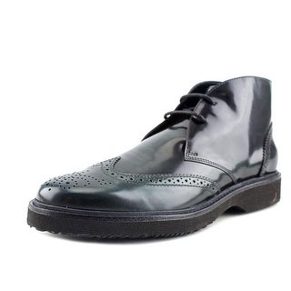 Hogan H217 Route Derby 2 Fori Wingtip Toe Leather Ankle Boot