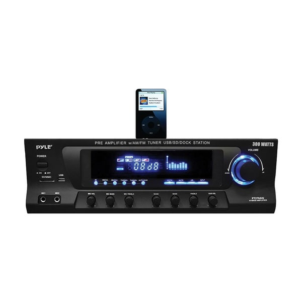Pyle 61W Stereo Receiver AM/FM Tuner