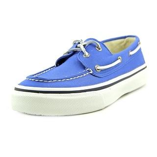 Sperry Top Sider Bahama 2-Eye Varsity Moc Toe Canvas Boat Shoe