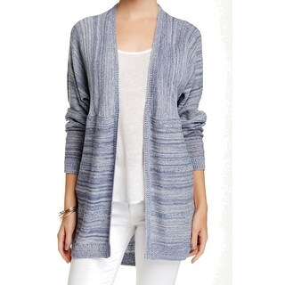 Wild Pearl NEW Blue Size Small S Junior Open-Front Marled Knit Cardigan