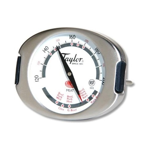 """Taylor 502 Connoisseur Meat Thermometer, 3"""""""
