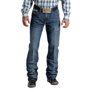 Cinch Western Denim Jeans Mens Grant Performance Dark Wash MB62737001 - 28 X 34
