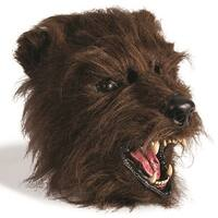 Scary Bear Costume Mask - Brown