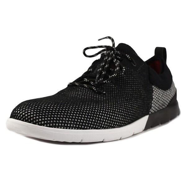 UGG Feli Men Canvas Black Fashion Sneakers