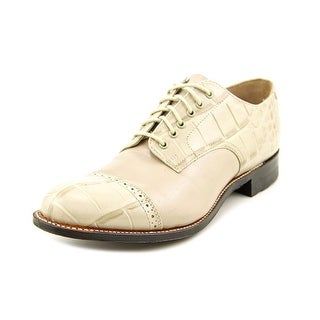 Stacy Adams Madison Oxford Men Cap Toe Leather Nude Oxford