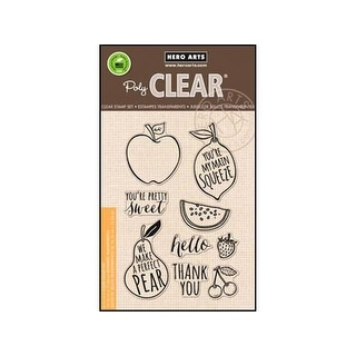 Hero Arts Clear Stamp Your Own Fruit