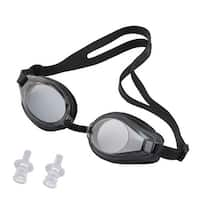 Unique Bargains Swimming Sports Aquafitness UV Protected Clear Swim Goggles w Ear Plugs For Kids