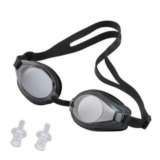Unique Bargains Swimming Sports Aquafitness UV Protected Clear Swim Goggles w Ear Plugs For Kids