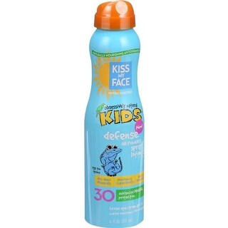 6 oz Sunscreen Mineral Continuous Spray Kids Defense, SPF 30