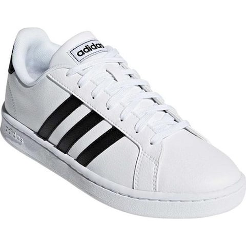 buy popular d157c 5389a adidas Women s Grand Court Sneaker FTWR White Core Black FTWR White