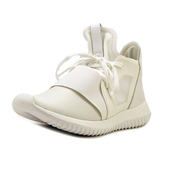 c4927c19b387 Shop Adidas Tubular Defiant Women Round Toe Synthetic White Sneakers ...