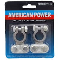 2-pc. Top Post Battery Terminal
