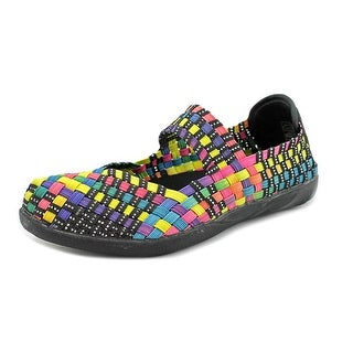 Bernie Mev. Cuddly Youth Round Toe Canvas Multi Color Mary Janes