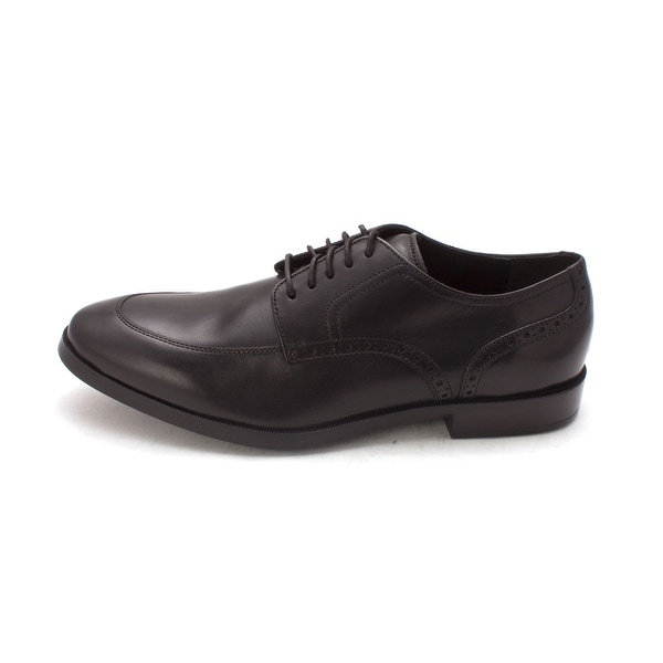 Cole Haan Mens Moderate Grand Dress Flex Apron Ox Leather Lace Up Dress Oxfords - 8.5