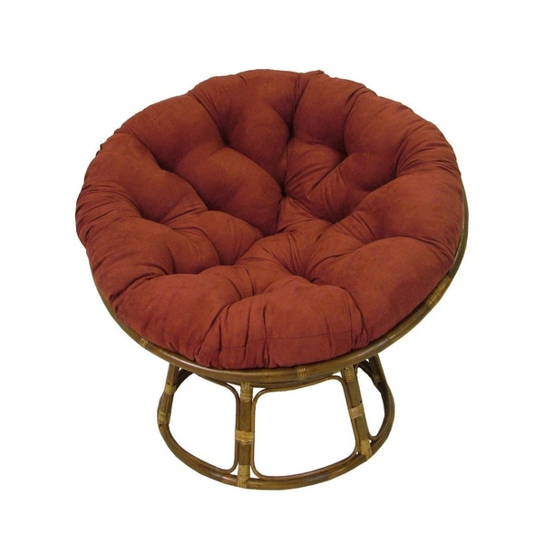 Blazing Needles 44-inch Microsuede Papasan Cushion. Opens flyout.
