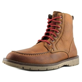 Dockers Evanston Men Moc Toe Leather Tan Boot|https://ak1.ostkcdn.com/images/products/is/images/direct/3b9aa421ccccffc50376d4a338175dfaf261d71d/Dockers-Evanston-Men-Wingtip-Toe-Leather-Tan-Boot.jpg?impolicy=medium