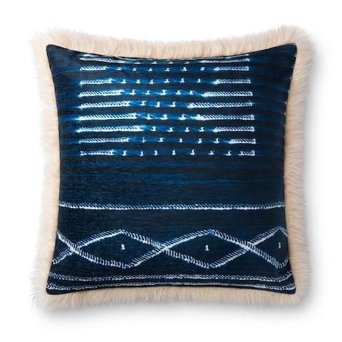 Alexander Home Angel Nautical Stripe Throw Pillow