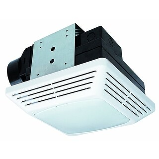 Air King BFQL70 70 CFM 2 Sone Ceiling Mounted LED Light Snap-In Energy Star Rate - White