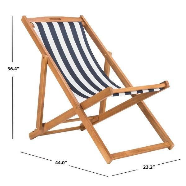 Safavieh Outdoor Living Loren Sling Chair (Set of 2). Opens flyout.