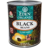 Eden Foods Black Beans Turtle - Case of 12 - 29 oz.