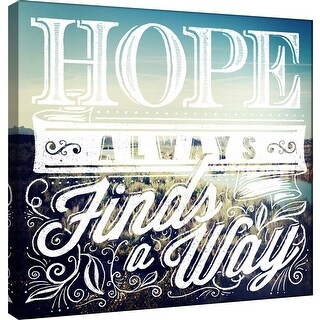 "PTM Images 9-101015  PTM Canvas Collection 12"" x 12"" - ""Hope"" Giclee Hope Art Print on Canvas"