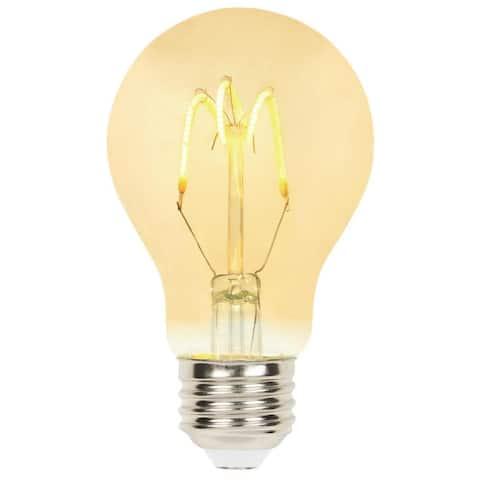 Westinghouse 5123000 Single 2.5 Watt A19 Medium (E26) LED Bulb - Amber