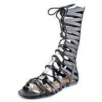 American Rag Maya Women  Open Toe Synthetic Black Gladiator Sandal