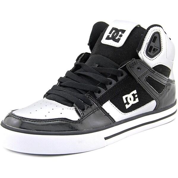 DC Shoes Spartan HI WC Men Round Toe Leather Skate Shoe