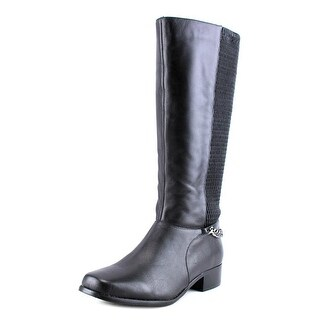 Annie Shoes Mariana  W Square Toe Leather  Knee High Boot