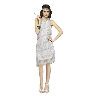 Womens Sexy Shimmery Flapper 1920s Costume
