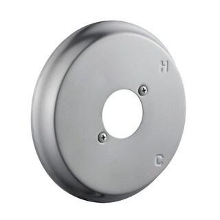 Design House 522771 Round Brass Shower Diverter Trim Only - Less Valve and Handl